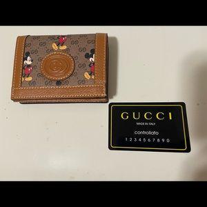 Gucci x Disney bi-fold wallet